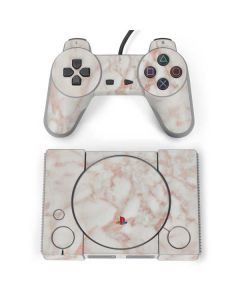 Rose Gold Marble PlayStation Classic Bundle Skin