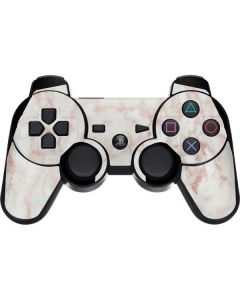 Rose Gold Marble PS3 Dual Shock wireless controller Skin