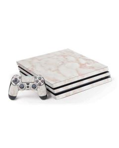 Rose Gold Marble PS4 Pro Bundle Skin