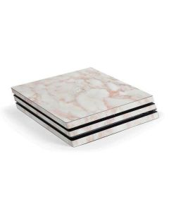 Rose Gold Marble PS4 Pro Console Skin