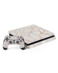 Rose Gold Marble PS4 Slim Bundle Skin