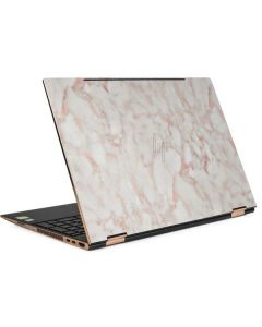 Rose Gold Marble HP Spectre Skin