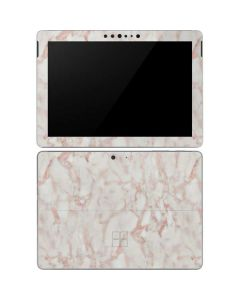 Rose Gold Marble Surface Go Skin