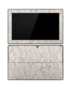 Rose Gold Marble Surface Pro Tablet Skin