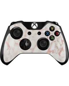 Rose Gold Marble Xbox One Controller Skin