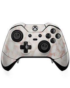 Rose Gold Marble Xbox One Elite Controller Skin