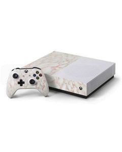 Rose Gold Marble Xbox One S All-Digital Edition Bundle Skin