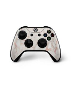 Rose Gold Marble Xbox One X Controller Skin