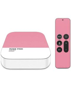 Rose Pink Apple TV Skin