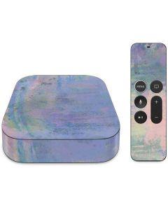 Rose Quartz & Serenity Abstract Apple TV Skin