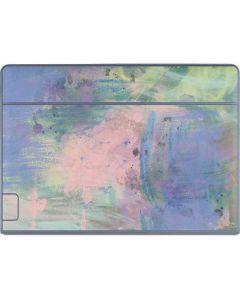 Rose Quartz & Serenity Abstract Galaxy Book Keyboard Folio 12in Skin