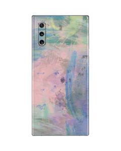 Rose Quartz & Serenity Abstract Galaxy Note 10 Skin