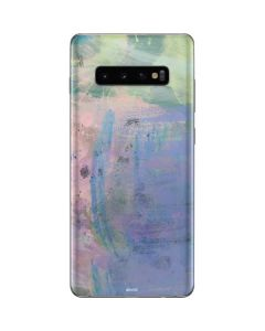 Rose Quartz & Serenity Abstract Galaxy S10 Plus Skin