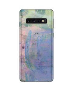 Rose Quartz & Serenity Abstract Galaxy S10 Skin