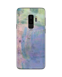 Rose Quartz & Serenity Abstract Galaxy S9 Plus Skin