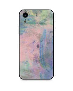 Rose Quartz & Serenity Abstract iPhone XR Skin