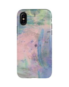 Rose Quartz & Serenity Abstract iPhone XS Max Pro Case
