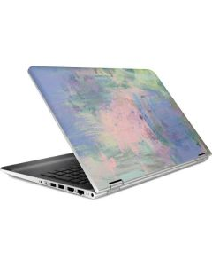 Rose Quartz & Serenity Abstract HP Pavilion Skin