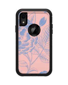 Rose Quartz & Serenity Floral Otterbox Defender iPhone Skin