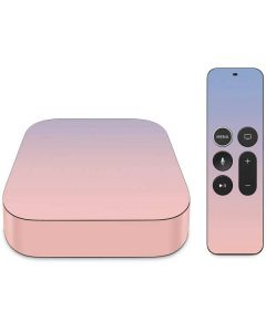 Rose Quartz & Serenity Ombre Apple TV Skin