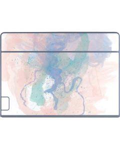 Rose Quartz & Serenity Splatter Galaxy Book Keyboard Folio 12in Skin