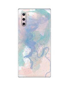 Rose Quartz & Serenity Splatter Galaxy Note 10 Skin