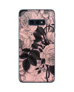 Rose Quartz Floral Galaxy S10e Skin