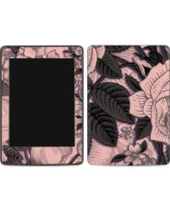 Rose Quartz Floral Amazon Kindle Skin
