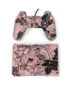Rose Quartz Floral PlayStation Classic Bundle Skin