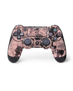Rose Quartz Floral PS4 Pro/Slim Controller Skin