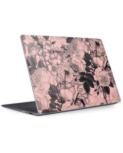 Rose Quartz Floral Surface Laptop 2 Skin
