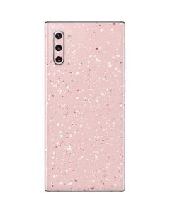 Rose Speckle Galaxy Note 10 Skin