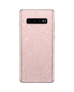 Rose Speckle Galaxy S10 Plus Skin