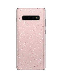 Rose Speckle Galaxy S10 Plus Skin