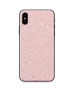 Rose Speckle iPhone XS Skin