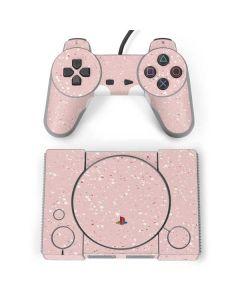 Rose Speckle PlayStation Classic Bundle Skin