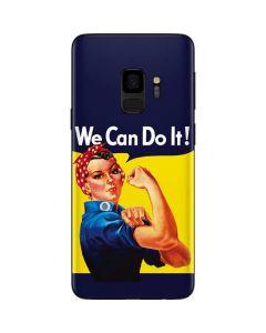 Rosie The Riveter Vintage War Poster Galaxy S9 Skin