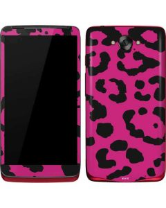 Rosy Leopard Motorola Droid Skin