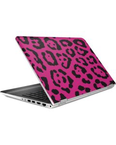 Rosy Leopard HP Pavilion Skin