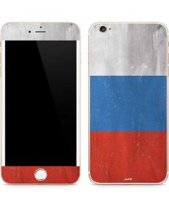 Russian Flag Distressed iPhone 6/6s Plus Skin