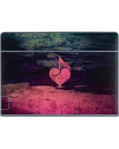 Rustic Musical Heart Galaxy Book Keyboard Folio 12in Skin