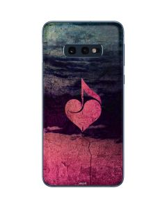 Rustic Musical Heart Galaxy S10e Skin