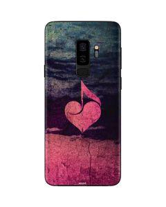 Rustic Musical Heart Galaxy S9 Plus Skin