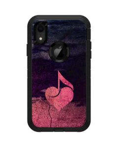 Rustic Musical Heart Otterbox Defender iPhone Skin