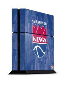 Sacramento Kings Hardwood Classics PS4 Console Skin