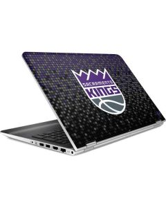 Sacramento Kings Purple Pixels HP Pavilion Skin