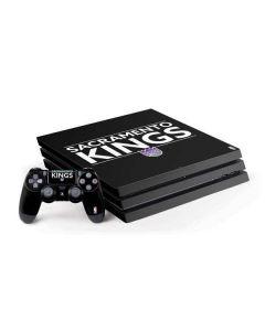 Sacramento Kings Standard - Black PS4 Pro Bundle Skin