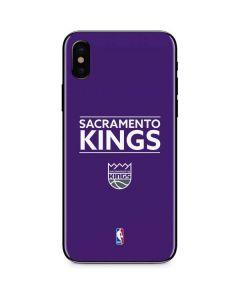Sacramento Kings Standard - Purple iPhone XS Max Skin