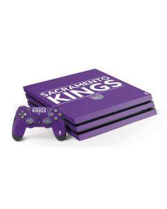 Sacramento Kings Standard - Purple PS4 Pro Bundle Skin