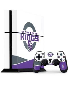 Sacramento Kings White Split PS4 Console and Controller Bundle Skin